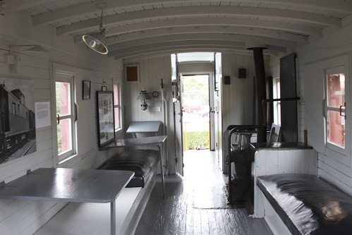 IMG_8319  Caboose Interior  The Chatham Railroad Museum