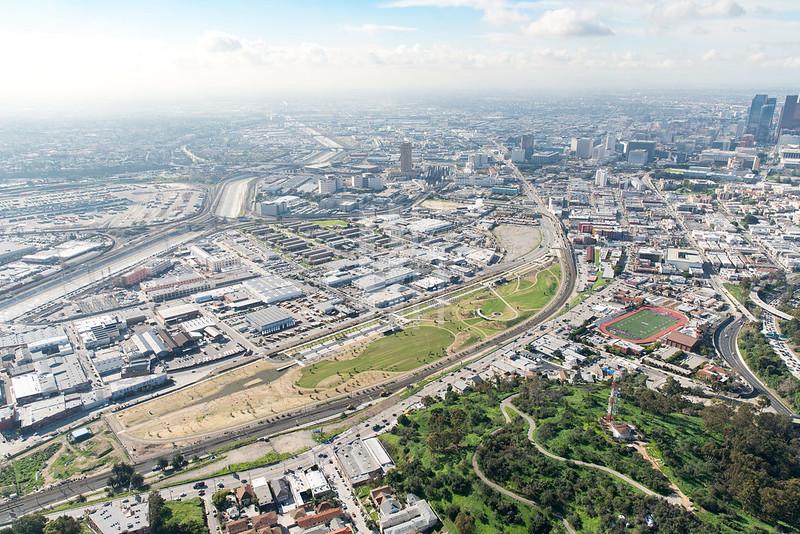 LA State Historic Park Aerial