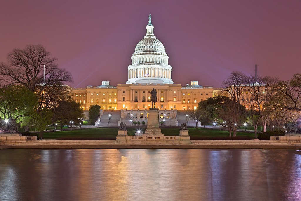 Washington DC Capitol  Purple Hour HDR  Long exposure nigh  Flickr
