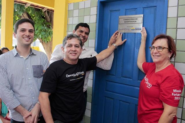 Inaugurado o 1º consultório odontológico para pacientes com lábio leporino, INAUGURAÇÃO DO CONSULTÓRIO ODONTOLÓGICO LÁBIAL-PALATAL (3)