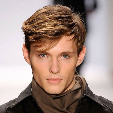 Flick Hairstyle Men Flick Hair Trend 2017