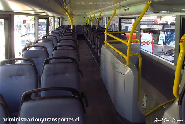 Interior ADL Enviro 500 / FLXT45