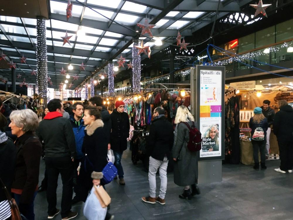 11 Dec 2016: Spitalfield Market   London, England