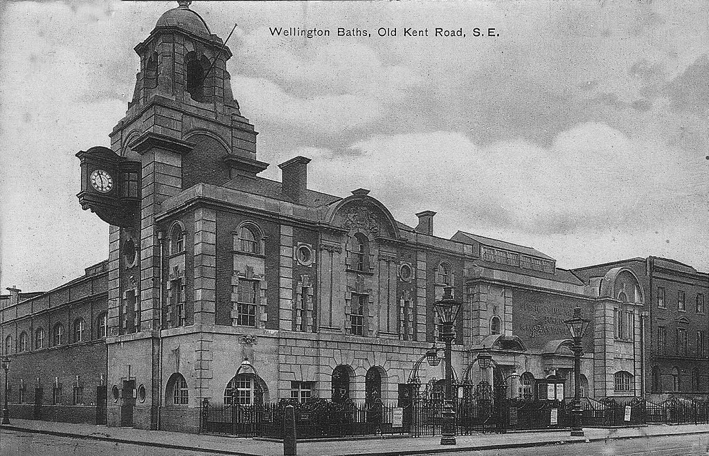 Old Kent Road Baths  This building was erected in 1905 at