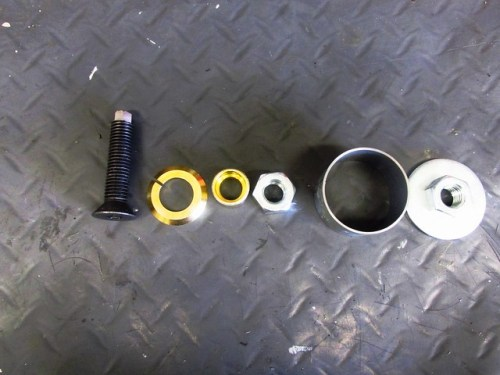 Outer Bearing Race Puller Parts