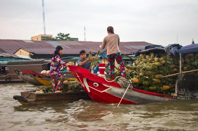 vietnamesiske både