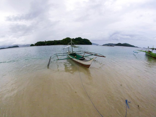 Paradise island Port Barton