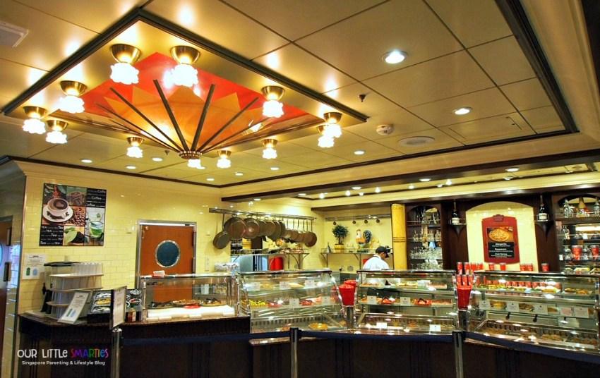 Cafe Promenade on Deck 5