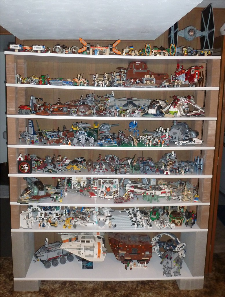 Updated Star Wars Lego Shelves  Updated Star Wars Lego