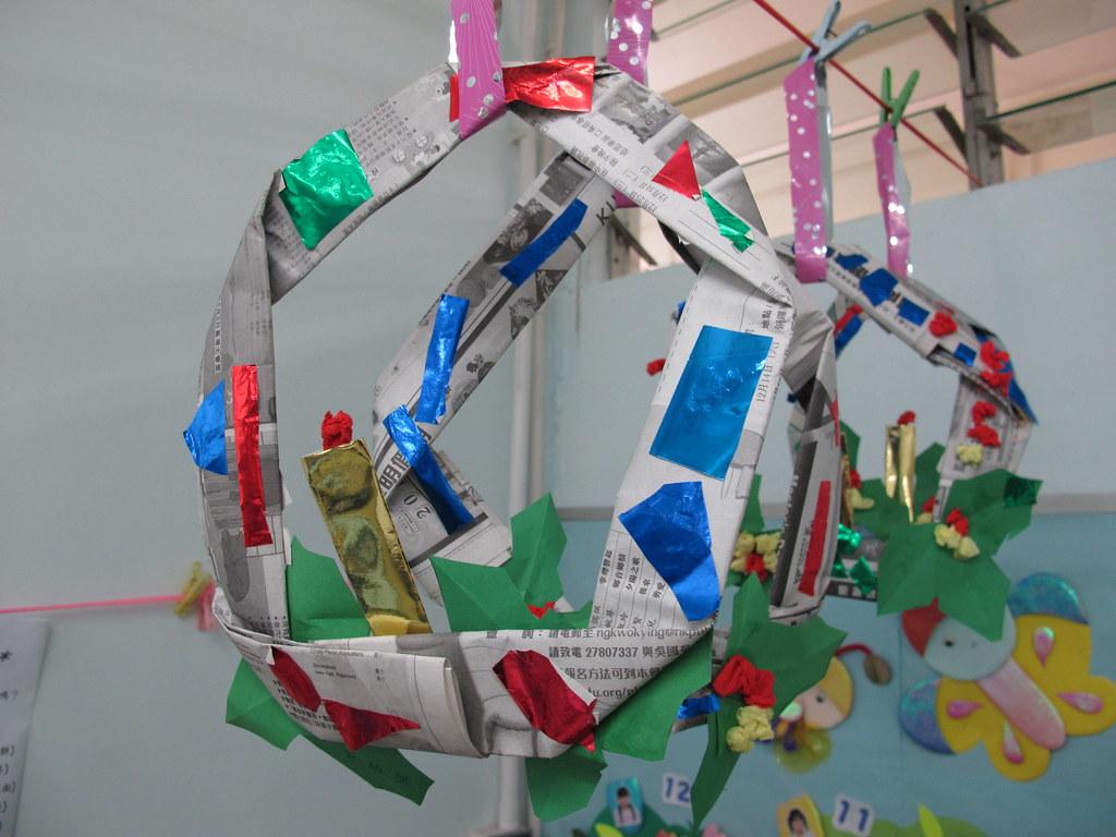 聖文嘉中英文幼稚園 (利東):利用廢物設計聖誕飾物   環保觸覺 GreenSense   Flickr