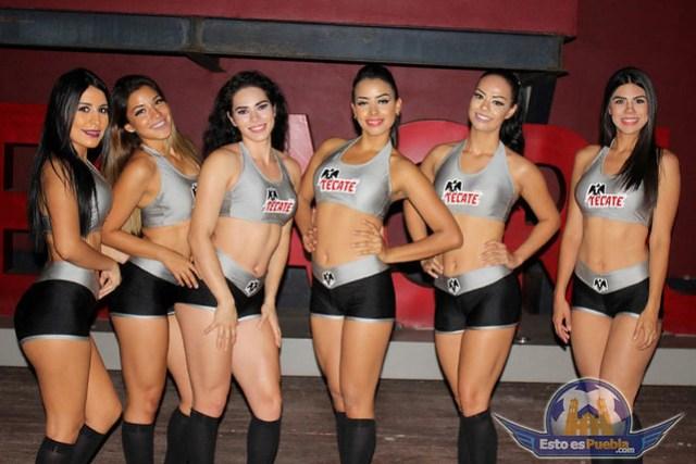 Belleza en el Veracruz Vs Puebla, J10 C2017, Liga Mx