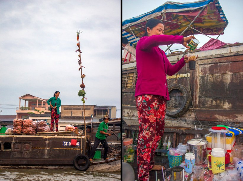 Cai Rang flydende marked