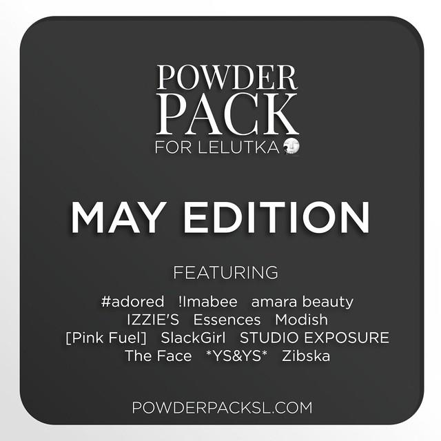 Powder Pack LeLutka May Edition