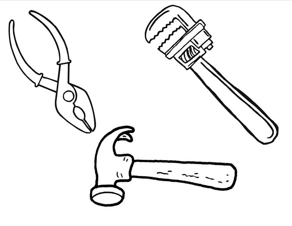 Tool Belt Page Coloring Pages