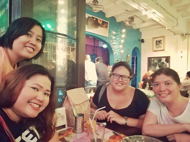 Makati Food Crawl Groupfie