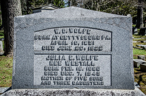 W O and Julia Wolfe Graves