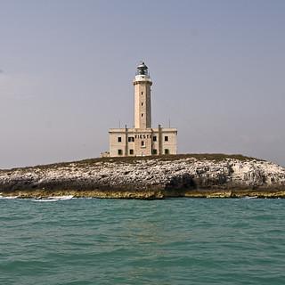 Vieste - Leuchtturm Seeseite