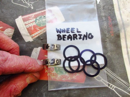 Cycle Works Wheel Bearing Preload Adjustment Kit