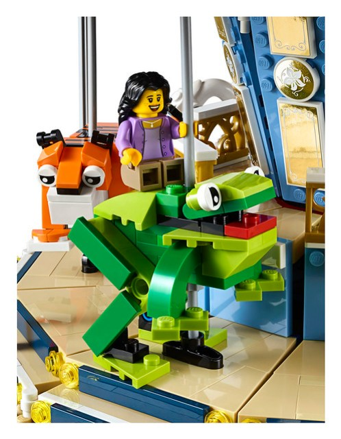 New Lego Creator Expert Set 10257 Carousel Announced News The