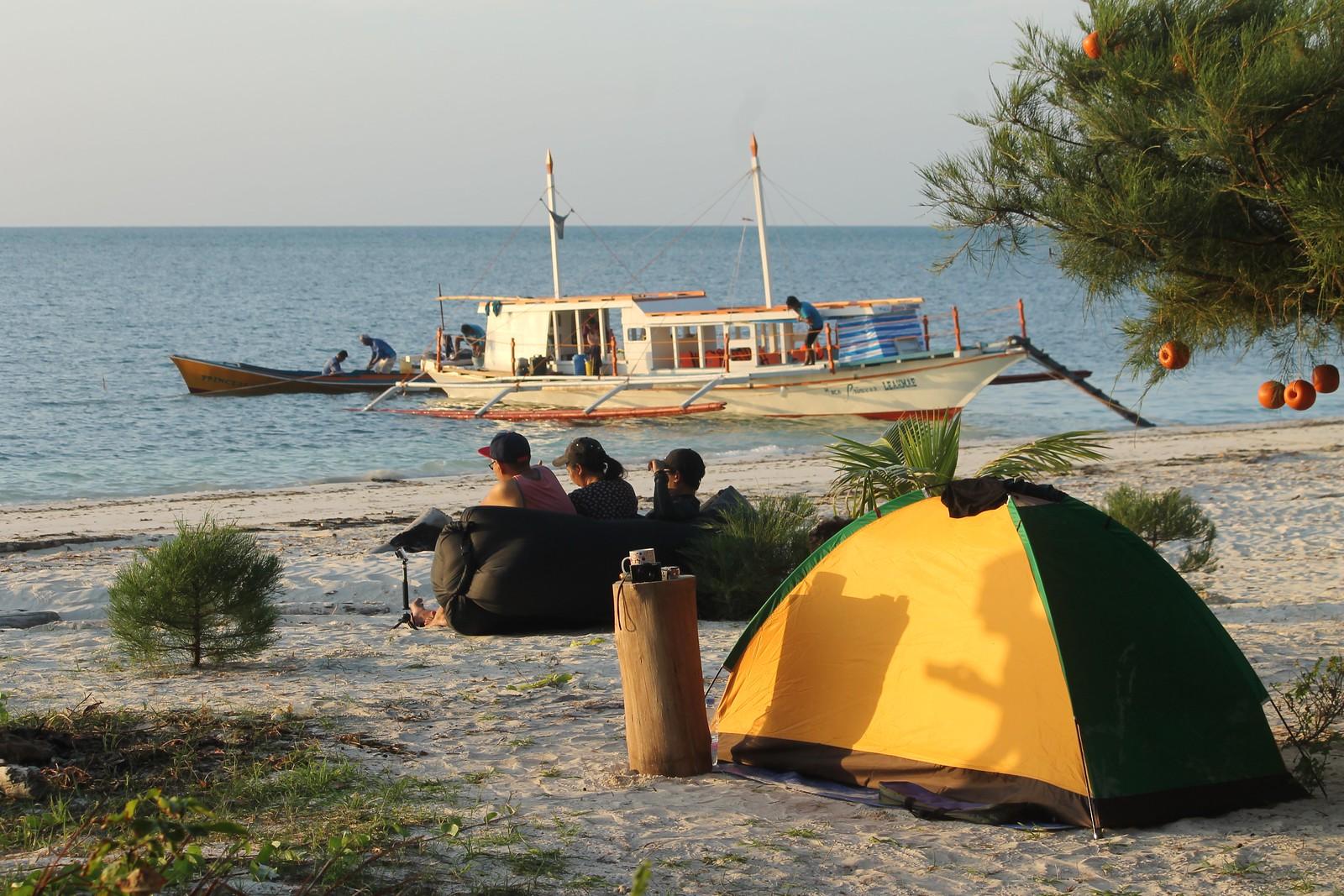 Camping at Punta Sebaring (Bugsuk Island)