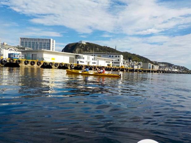 Kayak por el fiordo
