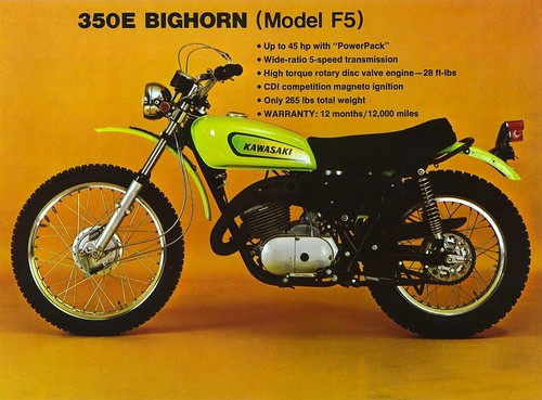 1971 Yamaha Wiring Diagram 1971 Kawasaki F5 A Bighorn 350 Tony Blazier Flickr