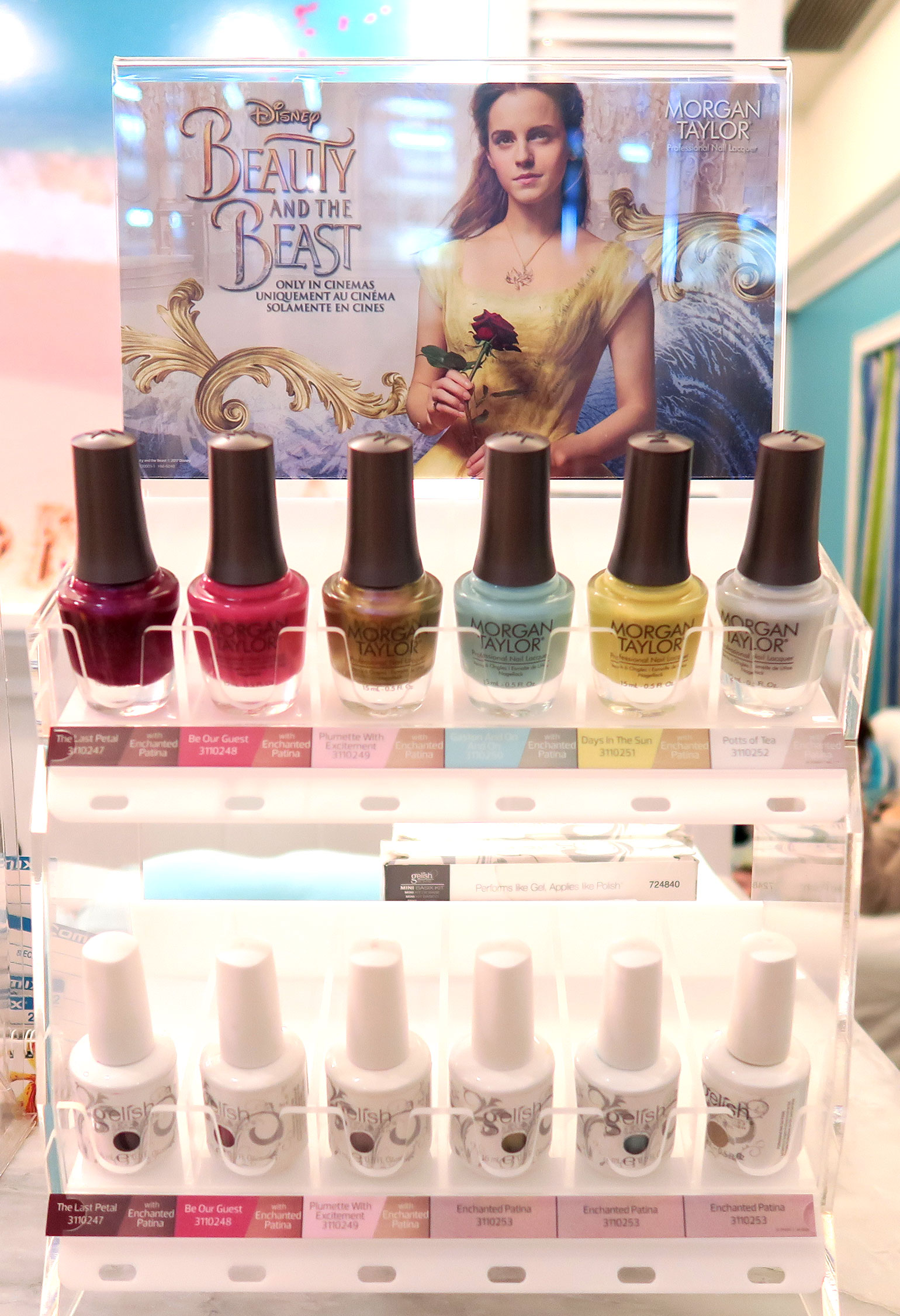6 Morgan Taylor Beauty and the Beast Collection