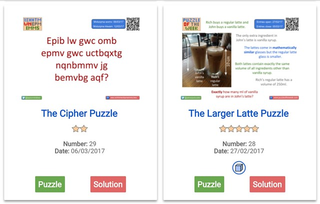 Puzzle of the Week
