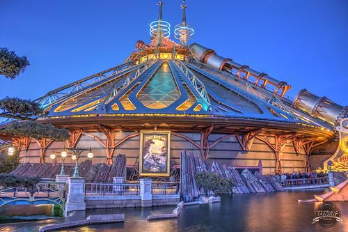 Disneyland Paris - Space Mountain