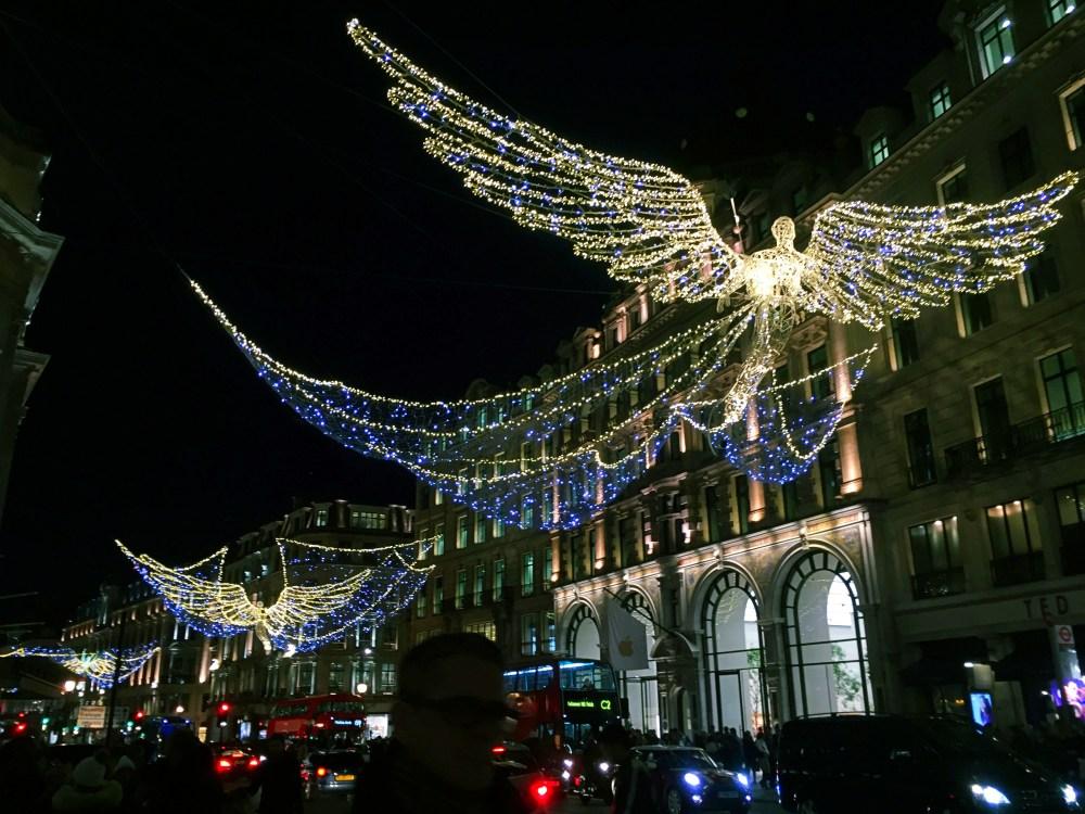 11 Dec 2016: Christmas Lights @ Regent Street | London, England