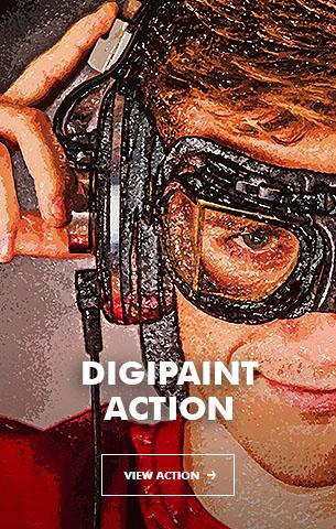 Ink Spray Photoshop Action V.1 - 99