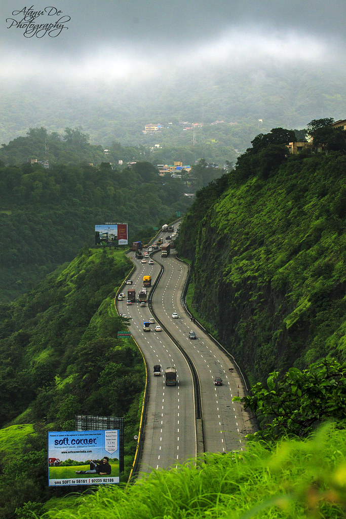 Mumbai Pune Express Highway  Taken from Shooting Point
