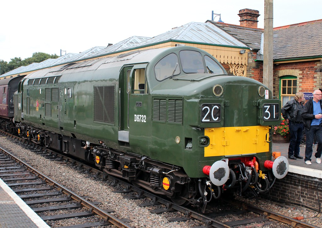 English Electric Type 3 D6732  Preserved English Electric