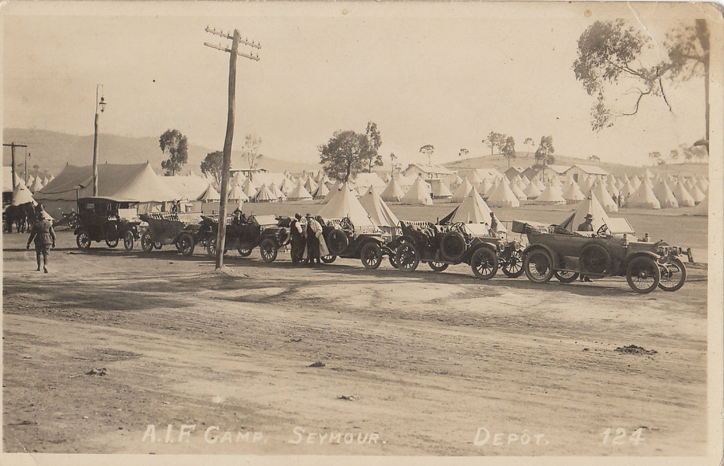 Seymour AIF Camp Victoria  WW1  When the Great War bro  Flickr
