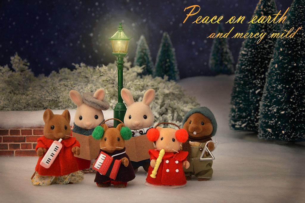 Sylvanian Families Christmas Carols Sylvanako Flickr