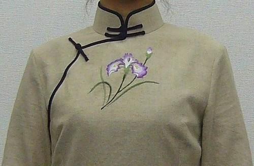 Qipao experiment 接袖旗袍