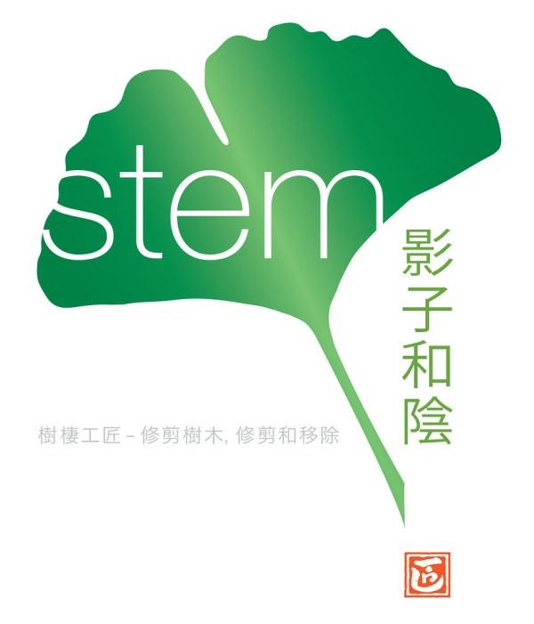 Ginko Leaf Stem Logo Walk Fly