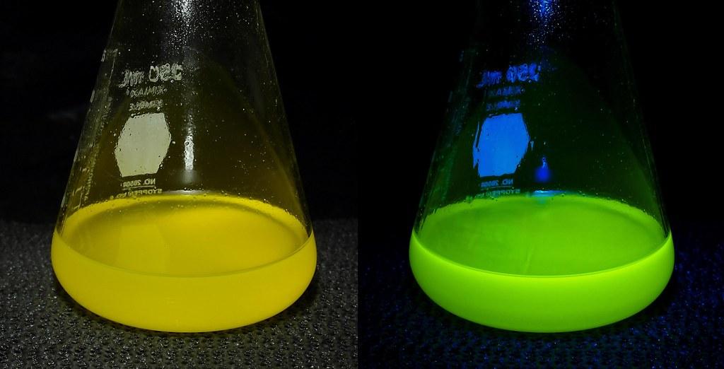 Vitamin Fluorescence Riboflavin  Vitamin B complex
