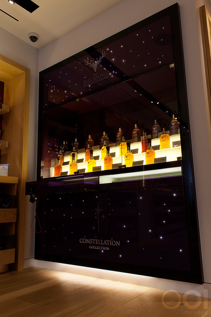 The Whisky Shop Piccadilly London  Office of Light  Ligh
