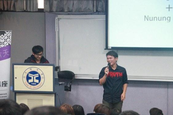 舒米恩魯碧受邀至元智大學演講