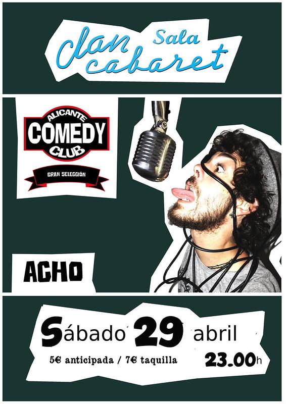 Acho. Alicante Comedy Club