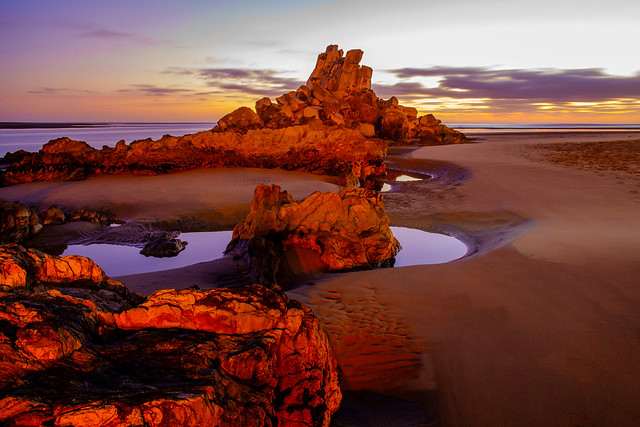 Shag Rock Sunrise