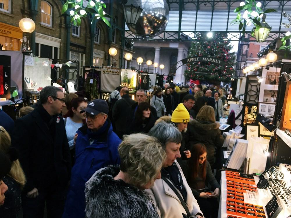 10 Dec 2016: Covent Garden Market   London, England