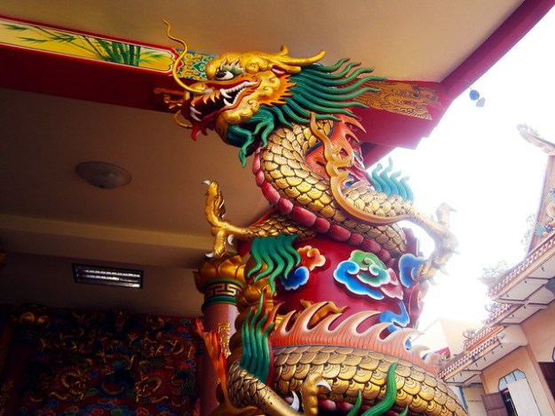 Vietnamese Style Thai Temple Bangkok