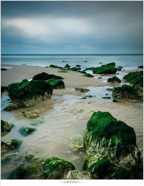 Het drooggevallen strand van Cap Blanc Nez (EOS 5D mark iV + EF24-70L II @ 24mm | ISO100 | f/16 | t= 120sec met Lee Big Stopper)