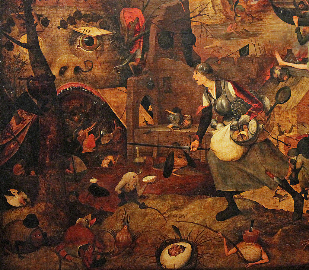 Bruegel the Elder Dulle Griet detail 1  Pieter Bruegel th  Flickr
