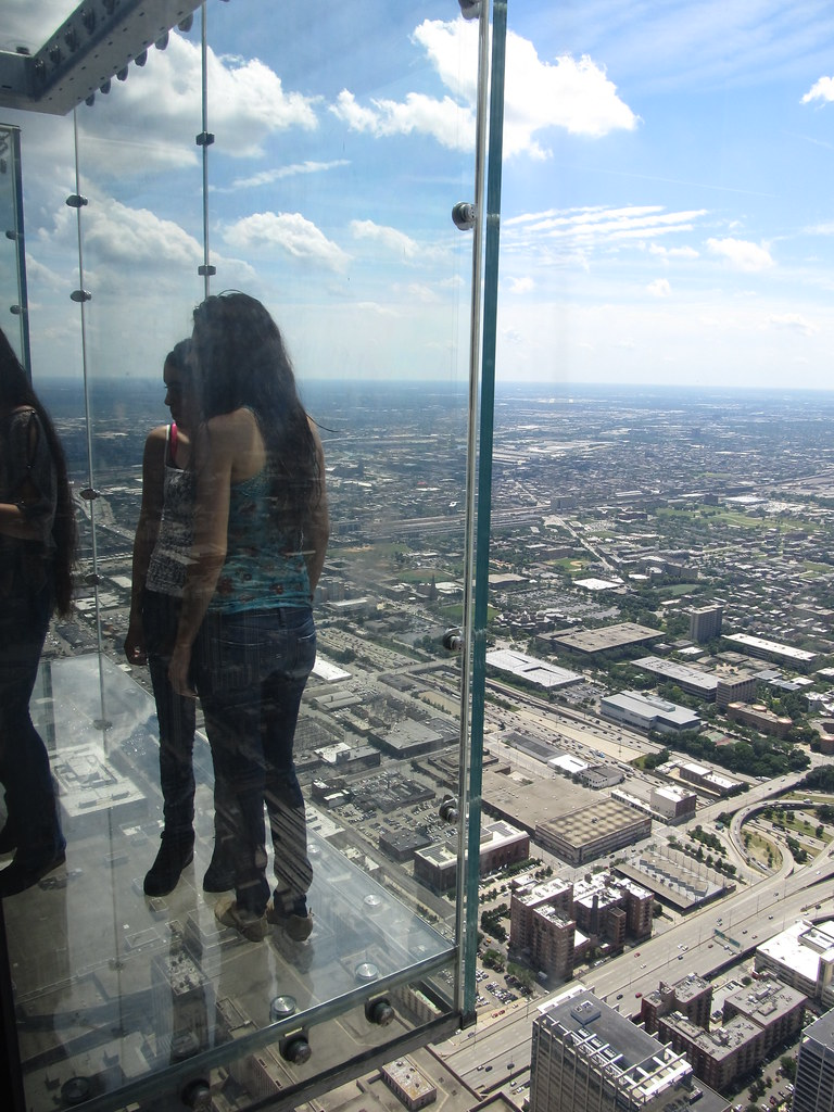 Glass Balconies Looking West from Willis Tower Skydeck C  Flickr