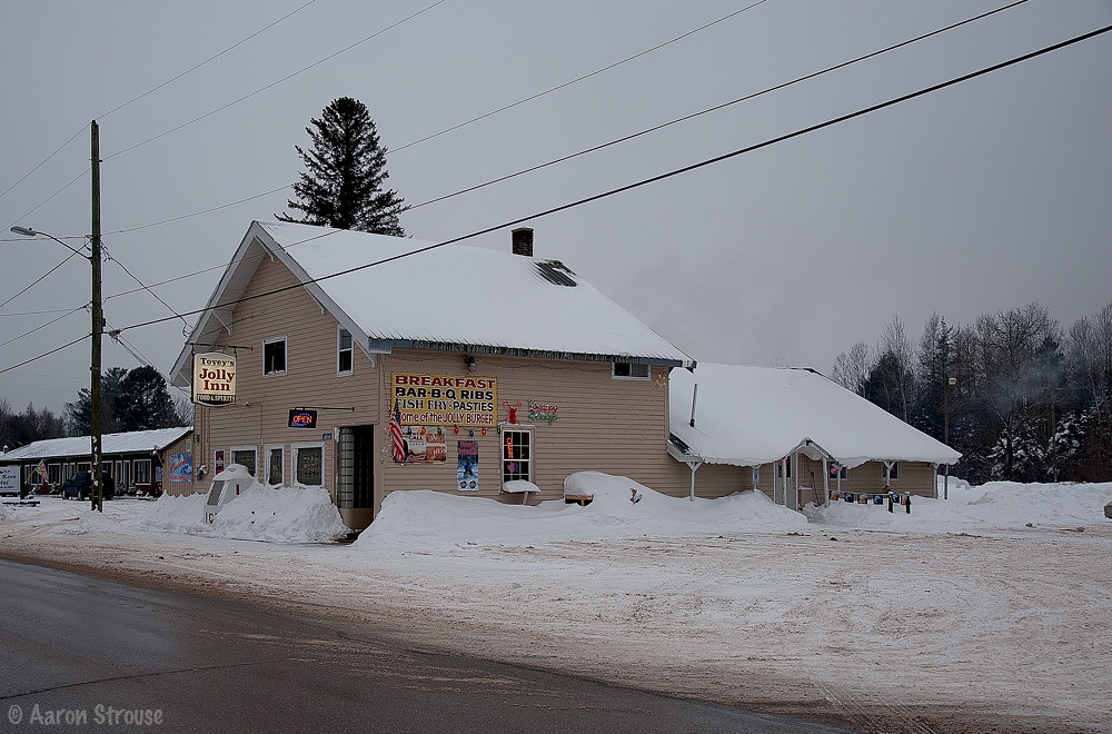 Jolly Inn Germfask MI  BEST PLACE TO EAT ANYWHERE