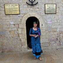 Gypsy Barefoot In Saint Sara Church