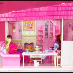 White Sofa Living Room How To Decorate With Corner Fireplace Barbie Pretty Furniture Collection 1987 ( Ro ...